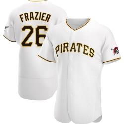 Adam Frazier Pittsburgh Pirates Men's Authentic Home Jersey - White