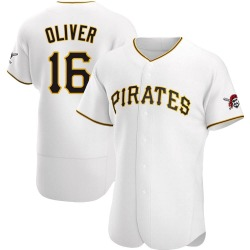 Al Oliver Pittsburgh Pirates Men's Authentic Home Jersey - White