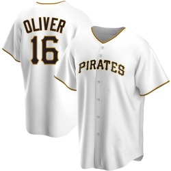 Al Oliver Pittsburgh Pirates Men's Replica Home Jersey - White