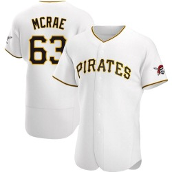 Alex McRae Pittsburgh Pirates Men's Authentic Home Jersey - White