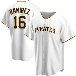 Aramis Ramirez Pittsburgh Pirates Men's Replica Home Jersey - White