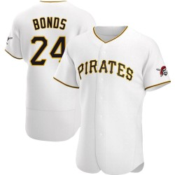 Barry Bonds Pittsburgh Pirates Men's Authentic Home Jersey - White