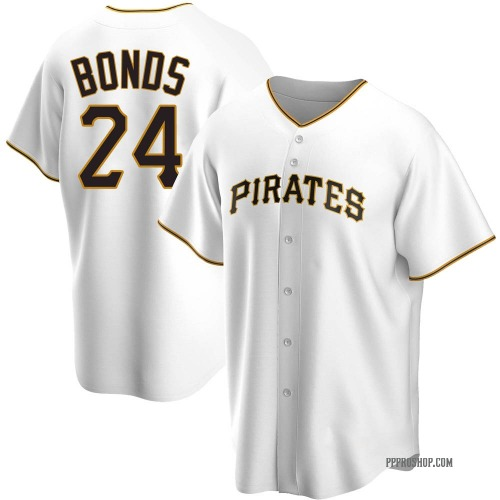 Barry Bonds Pittsburgh Pirates Youth Replica Home Jersey - White