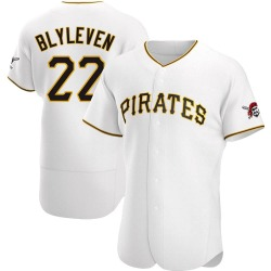 Bert Blyleven Pittsburgh Pirates Men's Authentic Home Jersey - White
