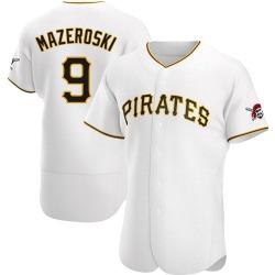 Bill Mazeroski Pittsburgh Pirates Men's Authentic Home Jersey - White
