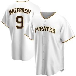 Bill Mazeroski Pittsburgh Pirates Men's Replica Home Jersey - White