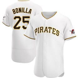 Bobby Bonilla Pittsburgh Pirates Men's Authentic Home Jersey - White