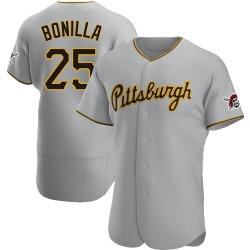 Bobby Bonilla Pittsburgh Pirates Men's Authentic Road Jersey - Gray