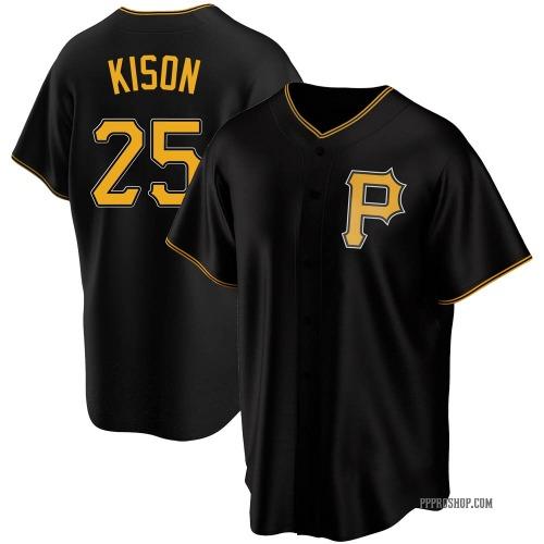 Bruce Kison Pittsburgh Pirates Youth Replica Alternate Jersey - Black