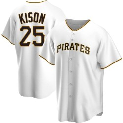 Bruce Kison Pittsburgh Pirates Youth Replica Home Jersey - White