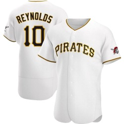 Bryan Reynolds Pittsburgh Pirates Men's Authentic Home Jersey - White