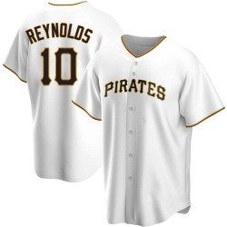 Bryan Reynolds Pittsburgh Pirates Men's Replica Home Jersey - White
