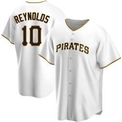 Bryan Reynolds Pittsburgh Pirates Youth Replica Home Jersey - White