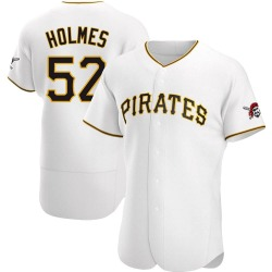Clay Holmes Pittsburgh Pirates Men's Authentic Home Jersey - White