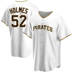 Clay Holmes Pittsburgh Pirates Youth Replica Home Jersey - White