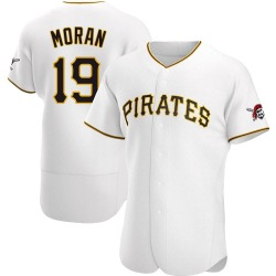 Colin Moran Pittsburgh Pirates Men's Authentic Home Jersey - White