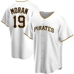 Colin Moran Pittsburgh Pirates Youth Replica Home Jersey - White