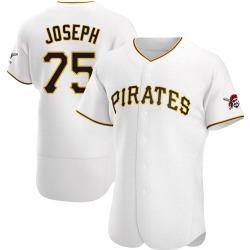 Corban Joseph Pittsburgh Pirates Men's Authentic Home Jersey - White