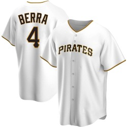 Dale Berra Pittsburgh Pirates Men's Replica Home Jersey - White