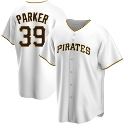 Dave Parker Pittsburgh Pirates Men's Replica Home Jersey - White