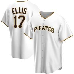 Dock Ellis Pittsburgh Pirates Men's Replica Home Jersey - White