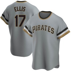 Dock Ellis Pittsburgh Pirates Youth Replica Road Cooperstown Collection Jersey - Gray