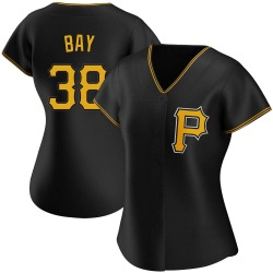Jason Bay Pittsburgh Pirates Women's Authentic Alternate Jersey - Black