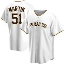 Jason Martin Pittsburgh Pirates Youth Replica Home Jersey - White