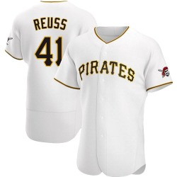 Jerry Reuss Pittsburgh Pirates Men's Authentic Home Jersey - White