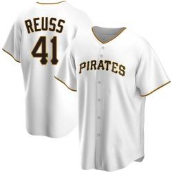 Jerry Reuss Pittsburgh Pirates Men's Replica Home Jersey - White