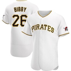 Jim Bibby Pittsburgh Pirates Men's Authentic Home Jersey - White