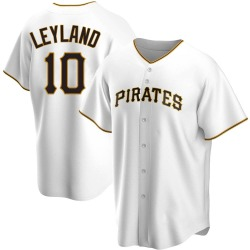 Jim Leyland Pittsburgh Pirates Youth Replica Home Jersey - White