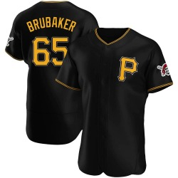 JT Brubaker Pittsburgh Pirates Men's Authentic Alternate Jersey - Black
