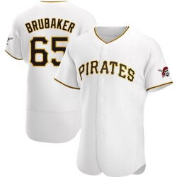 JT Brubaker Pittsburgh Pirates Men's Authentic Home Jersey - White