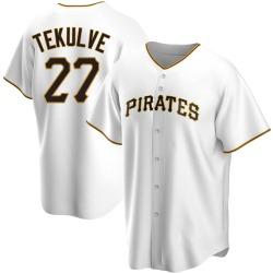 Kent Tekulve Pittsburgh Pirates Men's Replica Home Jersey - White