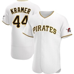 Kevin Kramer Pittsburgh Pirates Men's Authentic Home Jersey - White