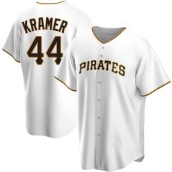 Kevin Kramer Pittsburgh Pirates Men's Replica Home Jersey - White