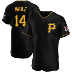 Luke Maile Pittsburgh Pirates Men's Authentic Alternate Jersey - Black