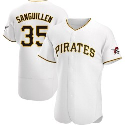 Manny Sanguillen Pittsburgh Pirates Men's Authentic Home Jersey - White