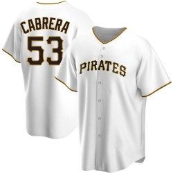 Melky Cabrera Pittsburgh Pirates Youth Replica Home Jersey - White