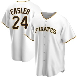 Mike Easler Pittsburgh Pirates Youth Replica Home Jersey - White