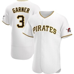 Phil Garner Pittsburgh Pirates Men's Authentic Home Jersey - White