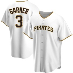 Phil Garner Pittsburgh Pirates Men's Replica Home Jersey - White