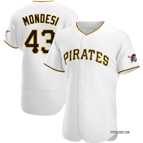 Raul Mondesi Pittsburgh Pirates Men's Authentic Home Jersey - White