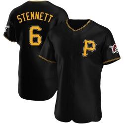 Rennie Stennett Pittsburgh Pirates Men's Authentic Alternate Jersey - Black