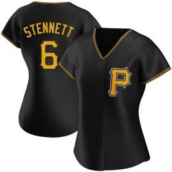 Rennie Stennett Pittsburgh Pirates Women's Authentic Alternate Jersey - Black