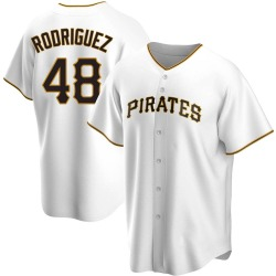 Richard Rodriguez Pittsburgh Pirates Men's Replica Home Jersey - White