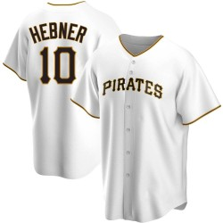 Richie Hebner Pittsburgh Pirates Men's Replica Home Jersey - White