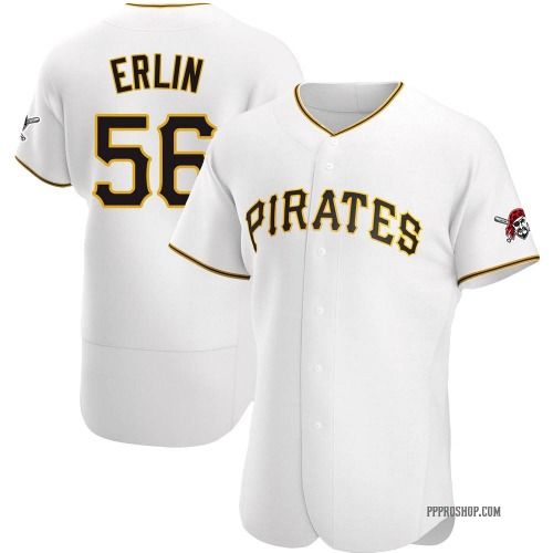 Robbie Erlin Pittsburgh Pirates Men's Authentic Home Jersey - White