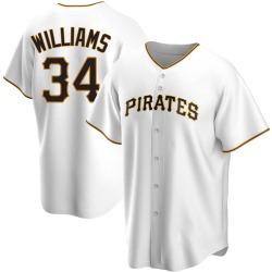 Trevor Williams Pittsburgh Pirates Men's Replica Home Jersey - White